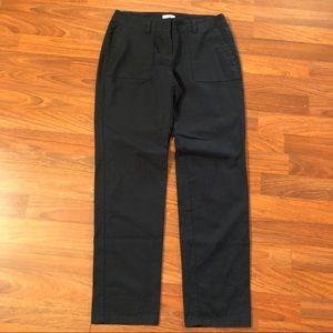 J. Jill Navy Blue Ankle Pants Size 4P New MWT